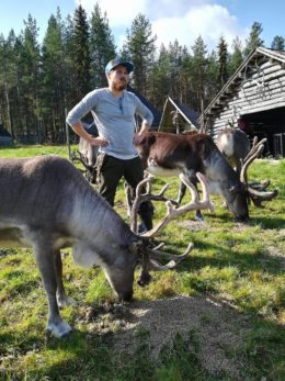 [SUMMER] REINDEER FARM AND HUSKY PARK VISIT