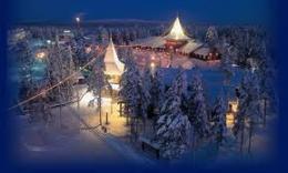 Day A – Safari con motos de nieve y visita al Pueblo de Papá Noel (Mínimo 2 personas)