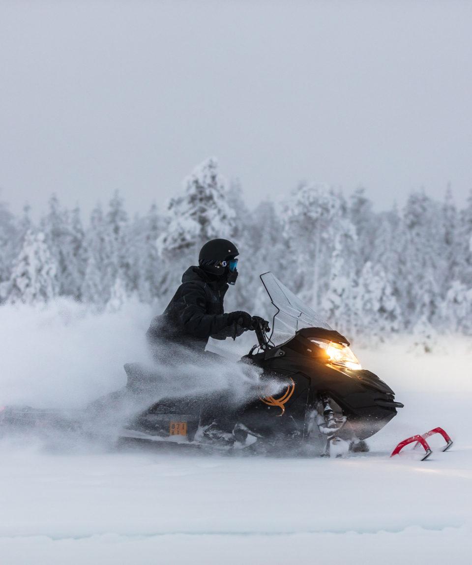Snowmobile Park - snowmobile